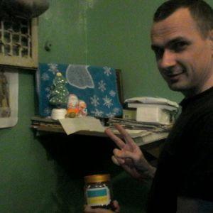 Сенцов показав єдине фото з російської в'язниці