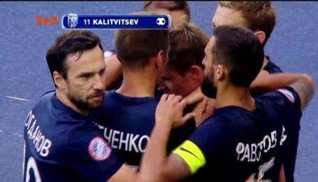 Динамо – Десна - 0:1. Відео голу Калітвінцева