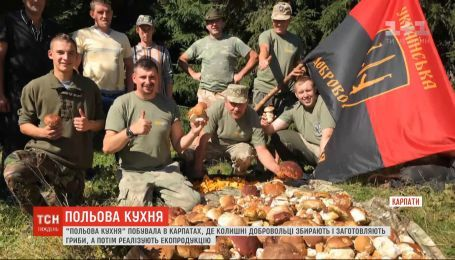 Полевая кухня: как сбор и реализация грибов помогают украинским воинам реабилитироваться после войны