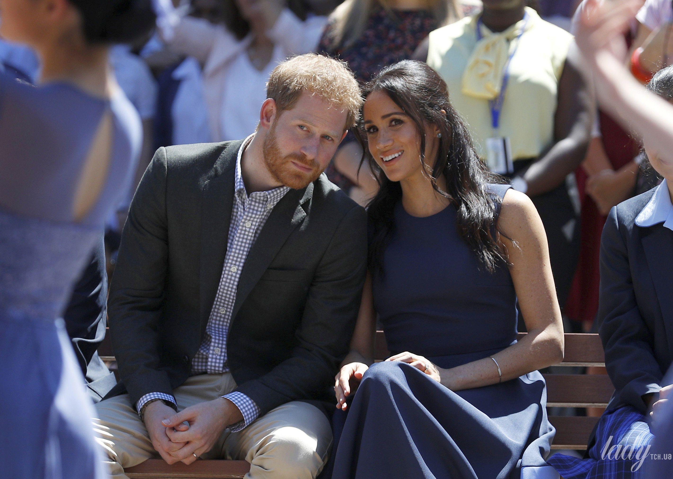 Герцогиня Меган и принц Гарри
