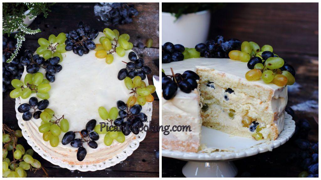 Виноградний торт, 3, для блогів