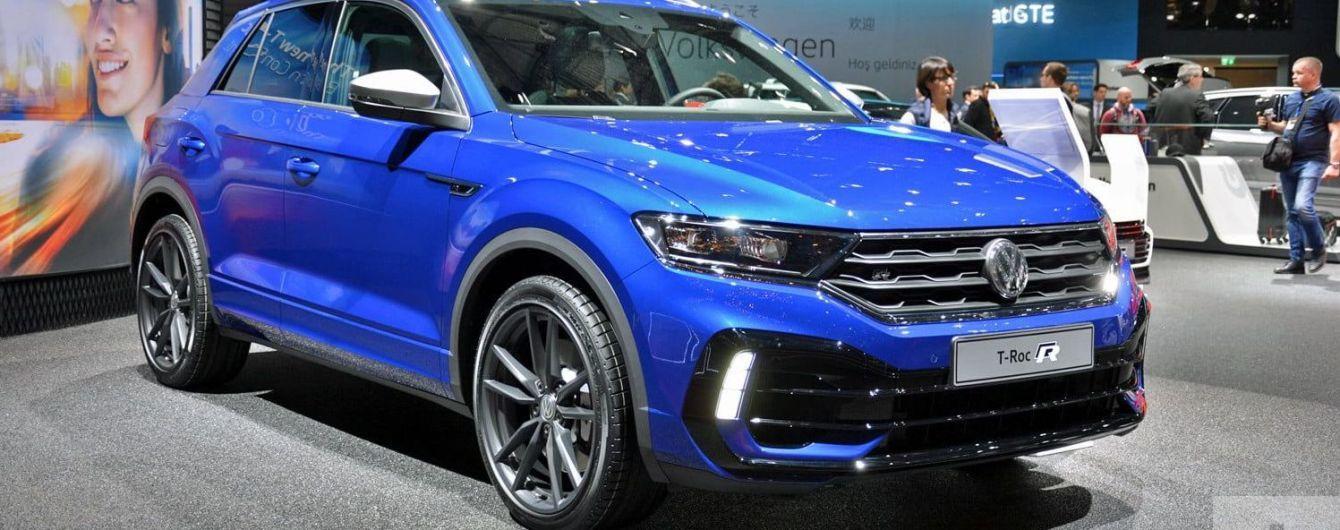 Volkswagen выпустил новый T-Roc R за $48 тысяч