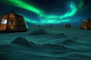 На Северном полюсе откроют необычный отель