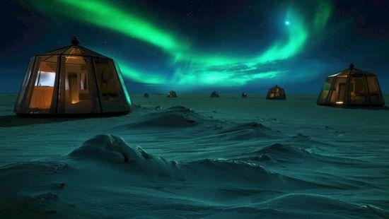 На Північному полюсі відкриють незвичайний готель