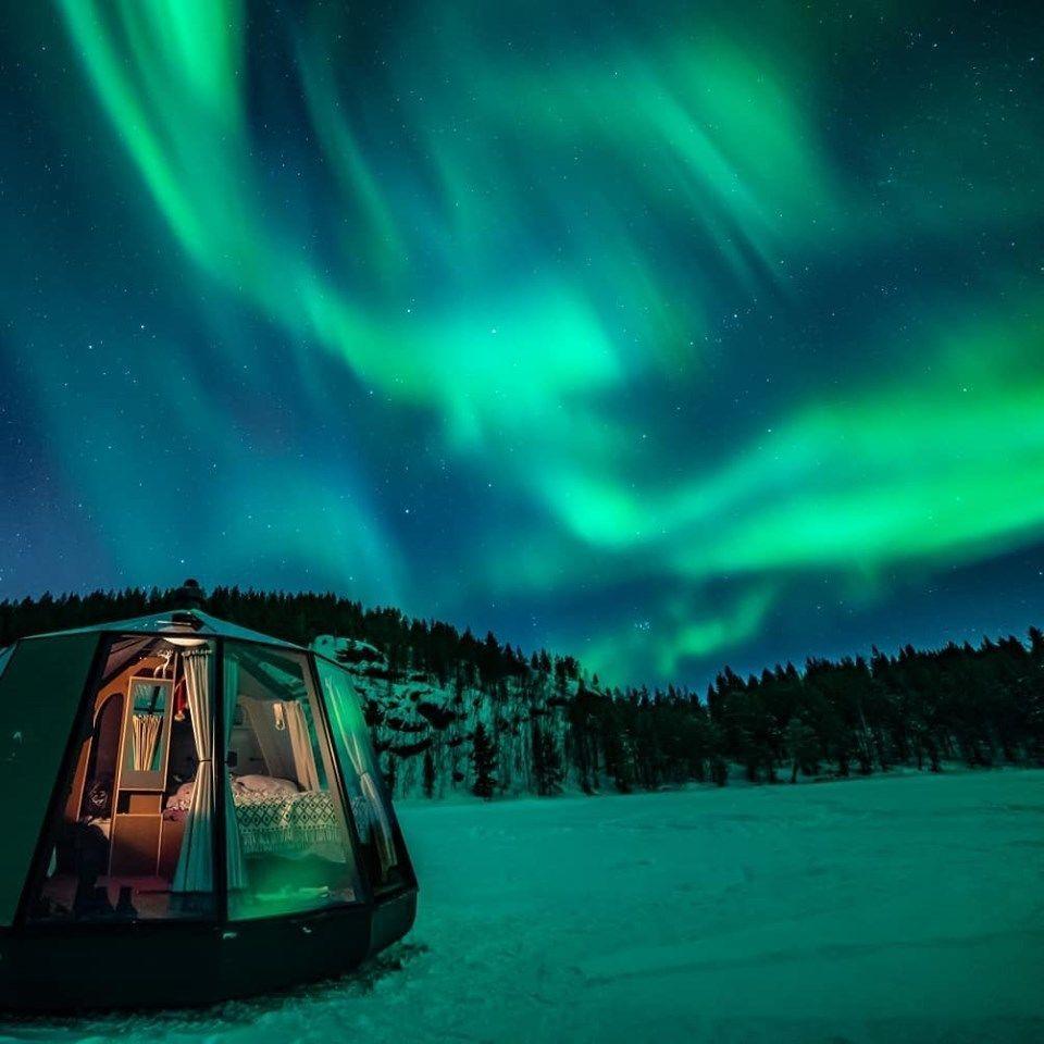 North Pole Igloos Северный полюс