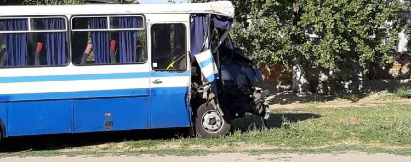 На Одесчине столкнулись две маршрутки с пассажирами, есть пострадавшие