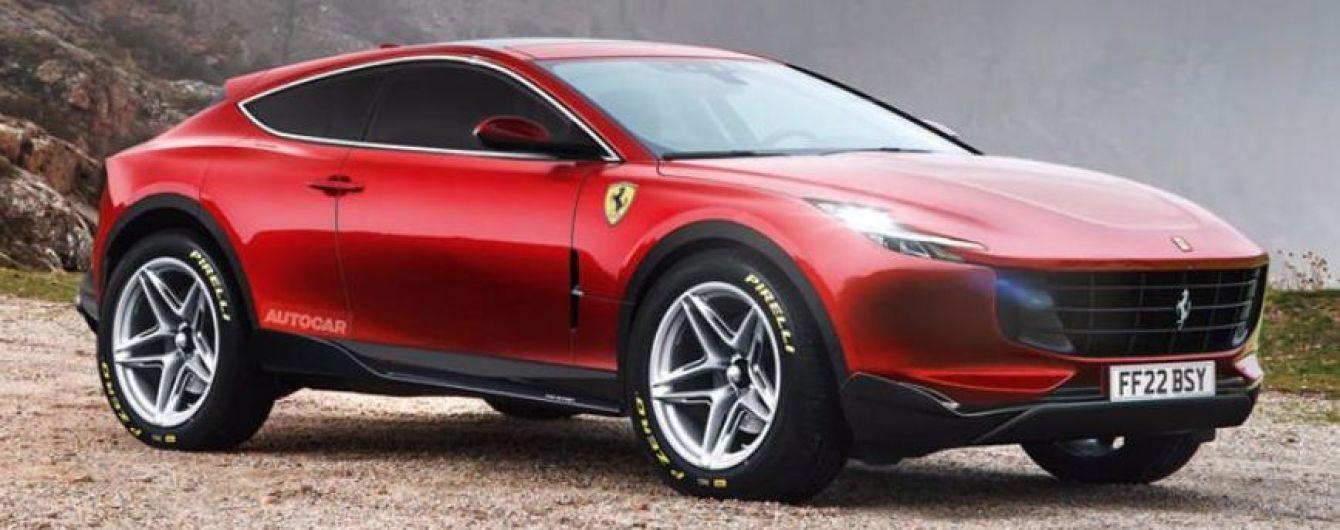 Ferrari раскрыла новые подробности о своем первом кроссовере