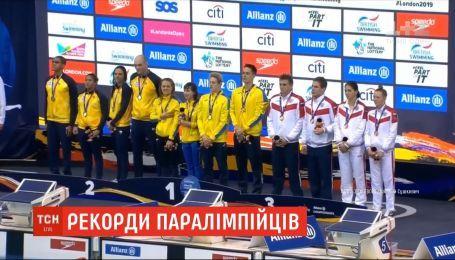 Украинские пловцы с инвалидностью установили новые мировые рекорды