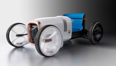 Mercedes возродил легендарный родстер в электричестве