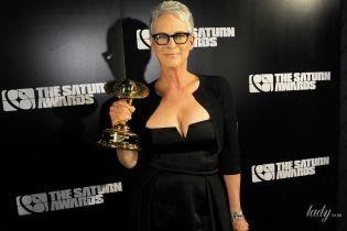 Вот это формы: 60-летняя американская актриса произвела фурор красивым декольте