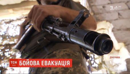 Вражеский снайпер ранил украинского бойца в Марьинке