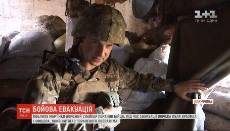 Поблизу Мар'їнки снайпер бойовиків влаштував полювання на українських бійців