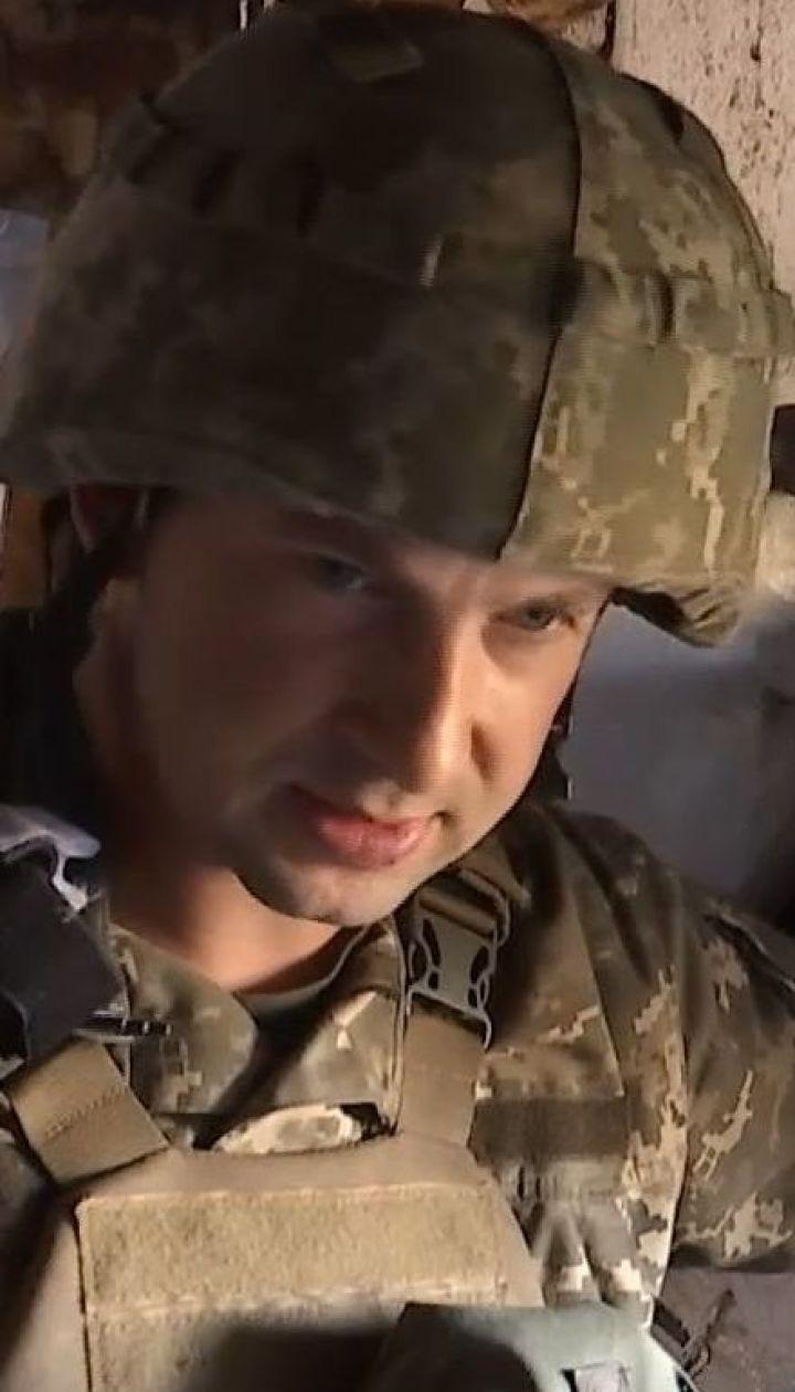 Вблизи Марьинки снайпер боевиков устроил охоту на украинских бойцов