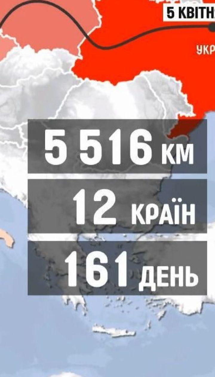 Программист Валентин Черненко прошел пешком 5 тысяч километров с Киева в Лиссабон