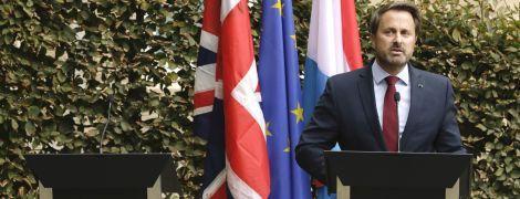 Джонсон відмовився вийти на пресконференцію з прем'єром Люксембургу, бо його освистали протестувальники