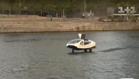 В Париже запустили летающее такси. Видео