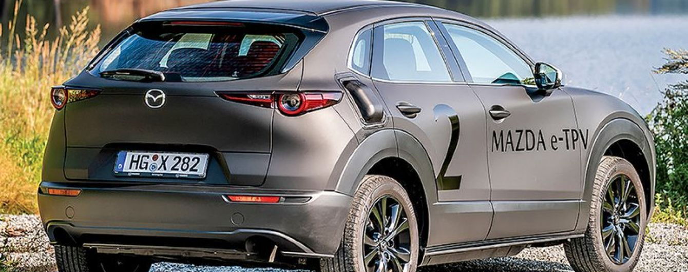 Mazda назвала дату презентації свого першого електрокара