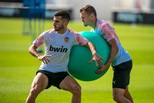 """Футболисты """"Валенсии"""" устроили бойкот и не явились на предматчевую пресс-конференцию к Лиге чемпионов"""