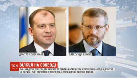 Суд Днепра отпустил Вилкула и Колесникова на поруки