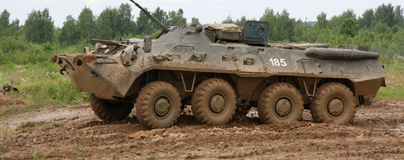 У Росії під час навчань БТР переїхав військових, є жертви