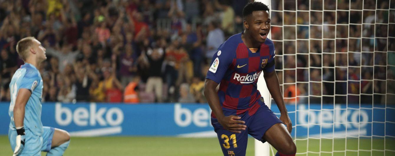"""""""Барселона"""" збирається платити мільйон євро 16-річному футболісту, який встановив гучний рекорд"""