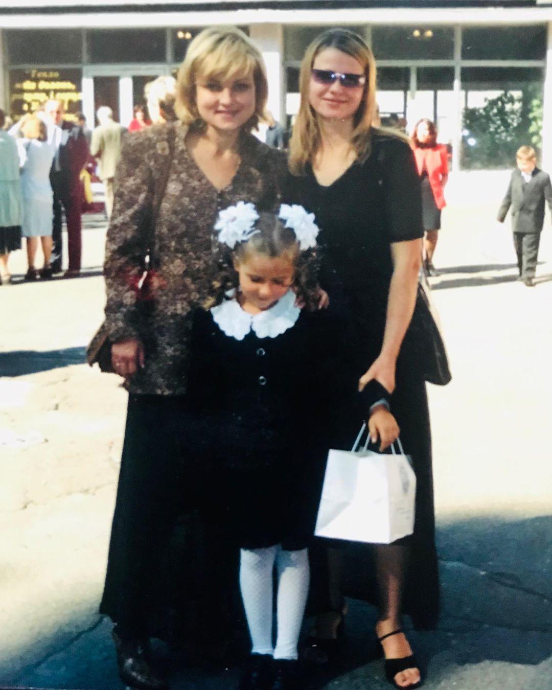 Дочка Марії Бурмаки