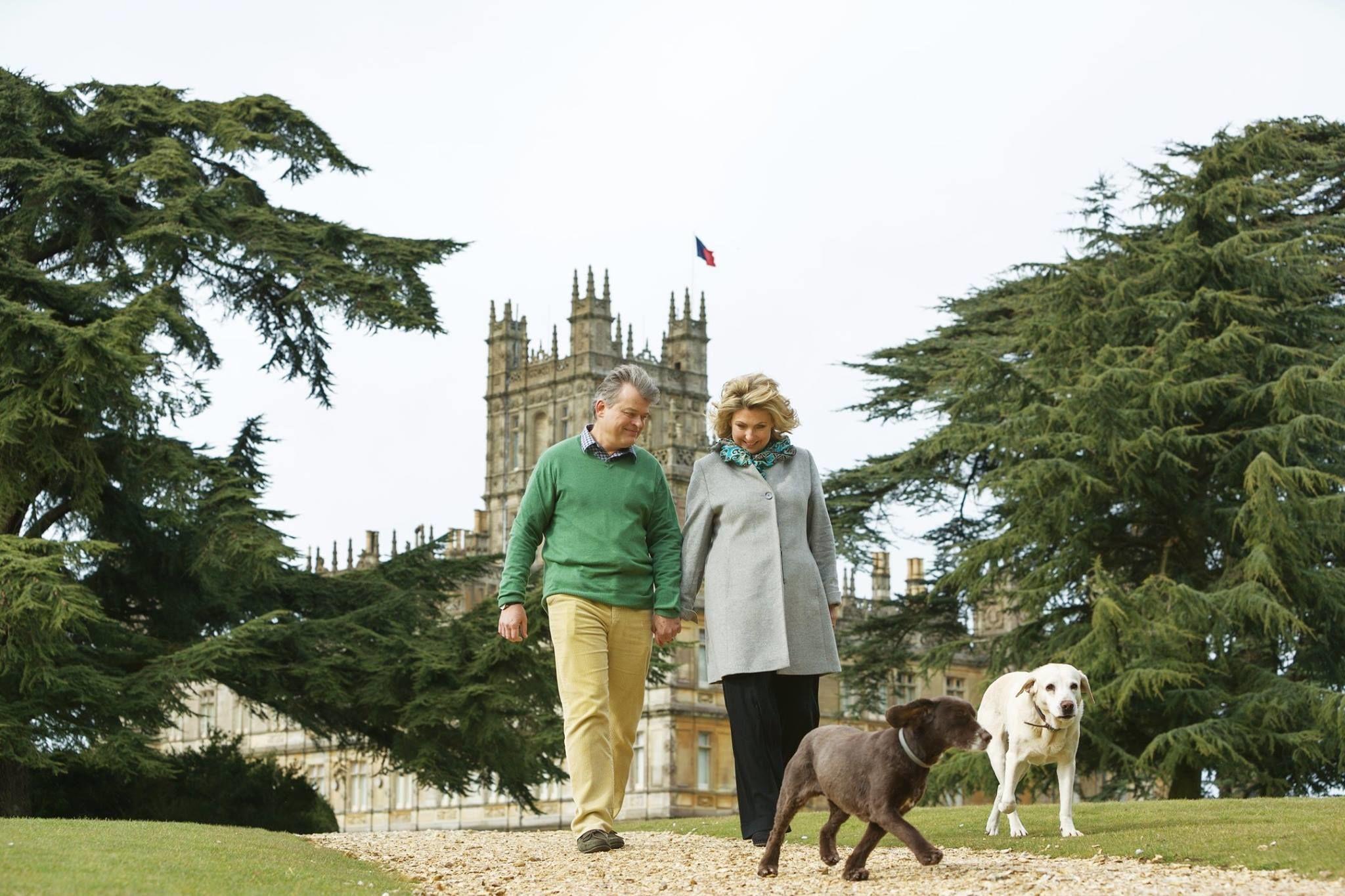 граф і графиня Карнарвони
