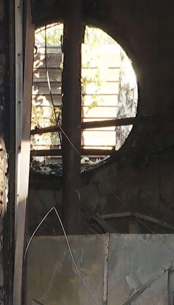 Поліція оголосила в розшук зловмисника, який підпалив будинок Гонтаревої