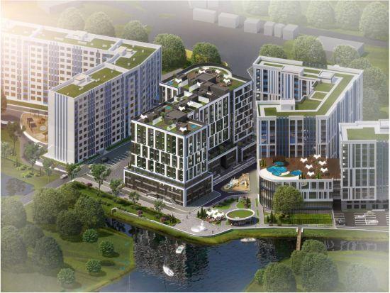 ЖК Рів'єра: затишний житловий комплекс з пляжем посеред величезного мегаполісу