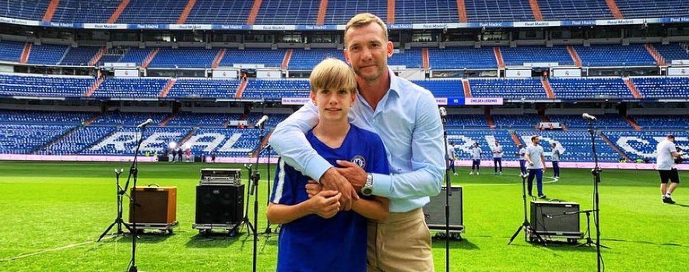 """Син Шевченка тренується в академії """"Челсі"""" і зможе грати за збірну Англії"""