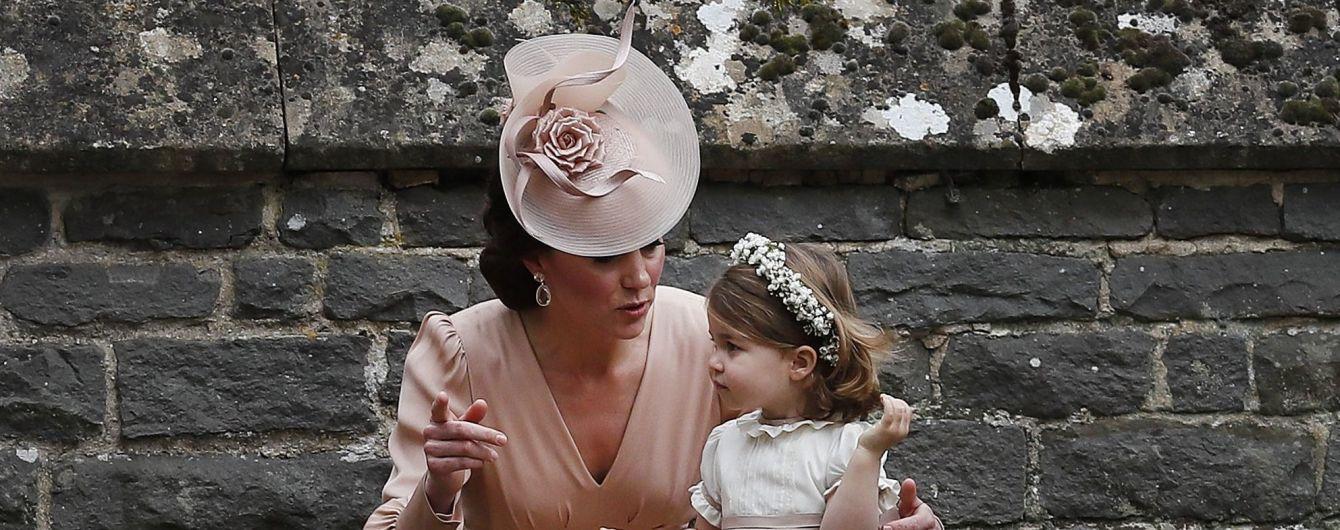Принцеса Шарлотта заінтригувала повідомленням про вагітність Кейт Міддлтон - ЗМІ