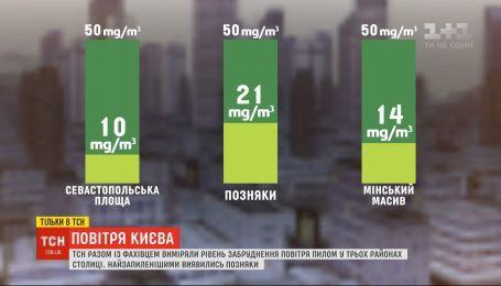 ТСН исследовала качество воздуха в столице после пожаров в ее окрестностях