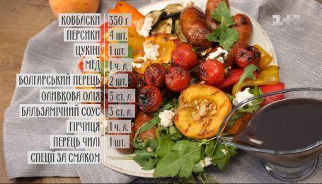 Колбаски с персиками - Правила завтрака