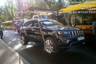 Инспекторы по парковке в Киеве выписали штрафов на 605 тысяч