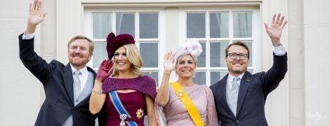 В карете, бриллиантах и роскошном платье: королева Максима на открытии нового парламентского года