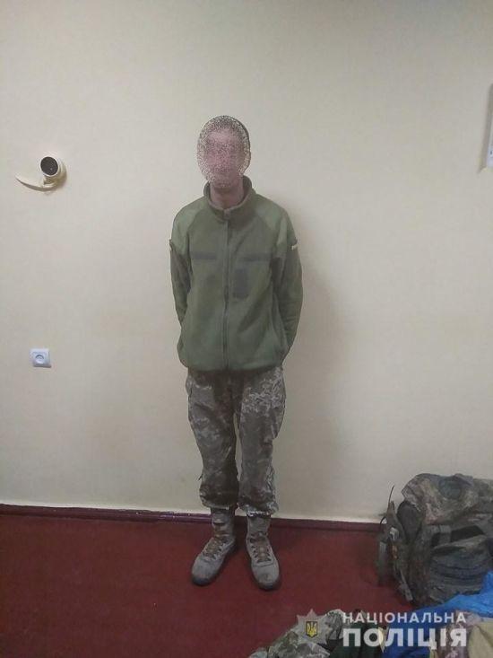 Поліція у Чорнобильській зоні затримала зниклого безвісти солдата
