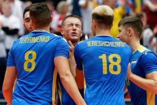 Сборная Украины разгромила Эстонию и вышла в плей-офф Чемпионата Европы по волейболу
