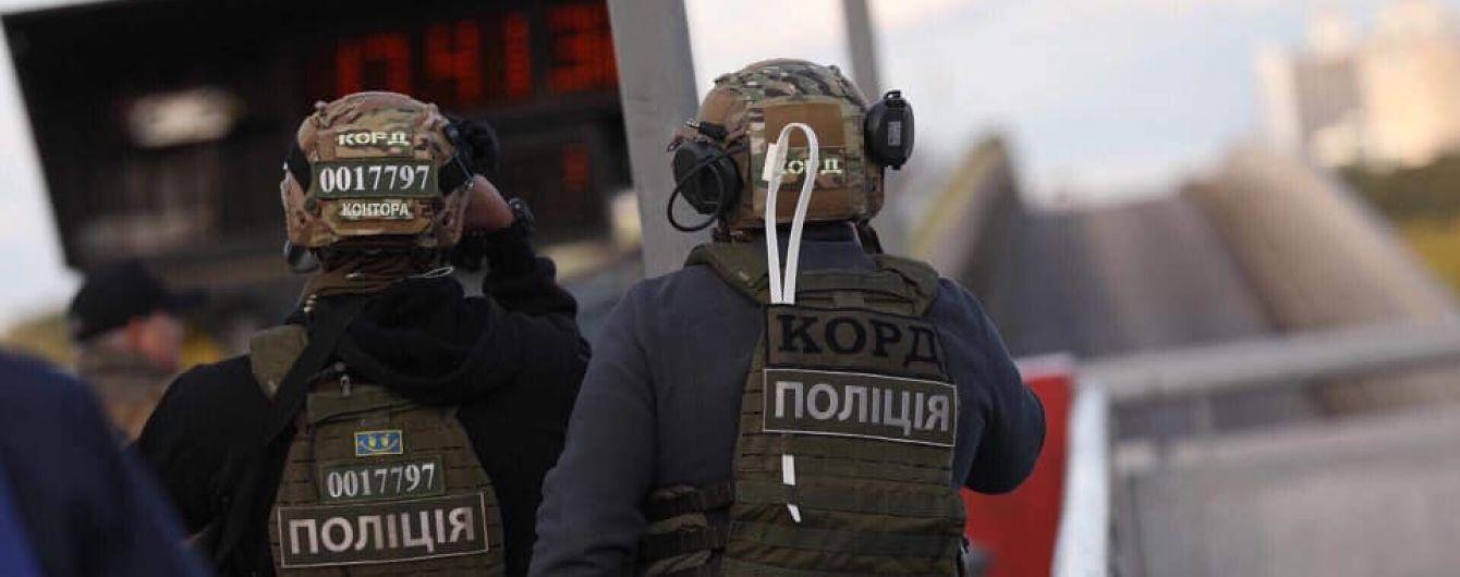"""В соцсетях появилось видео задержания """"минера"""" моста Метро"""