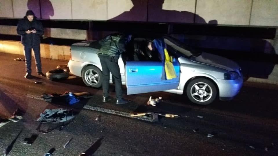 затримання террориста на мосту Метро в Києві_2