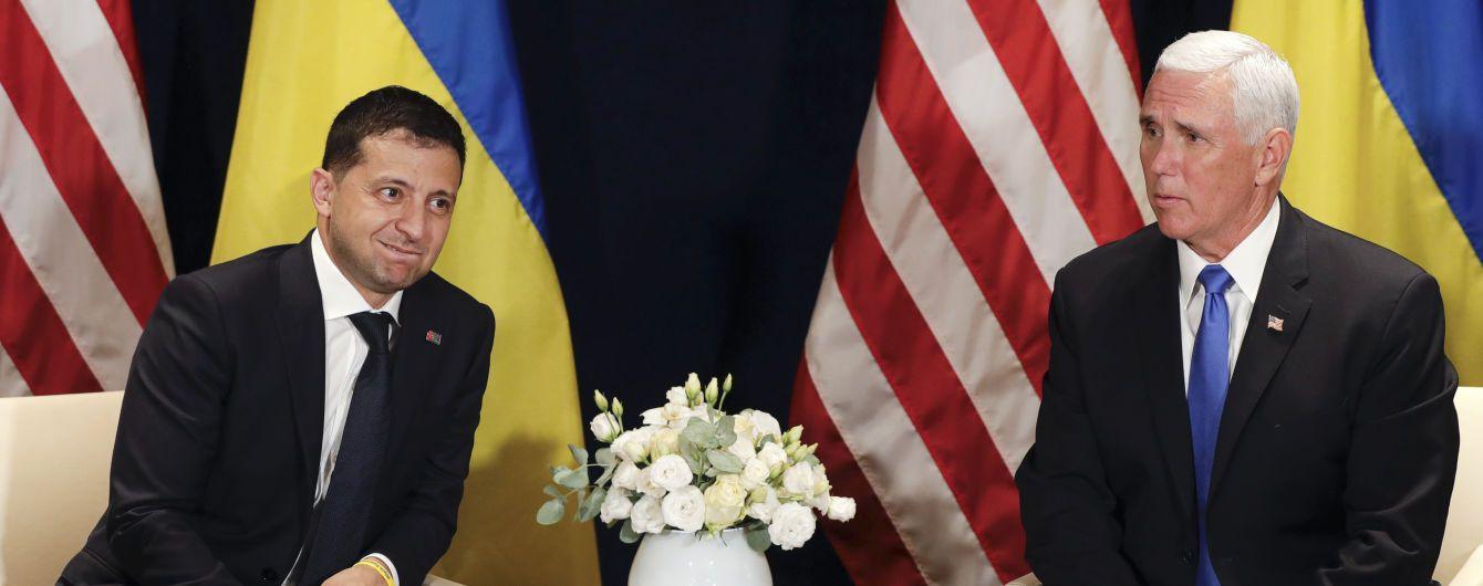 Зеленский в Варшаве провел встречу с вице-президентом США Майком Пенсом