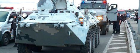 Блокування мосту Метро в Києві: як у столиці охороняють переправи