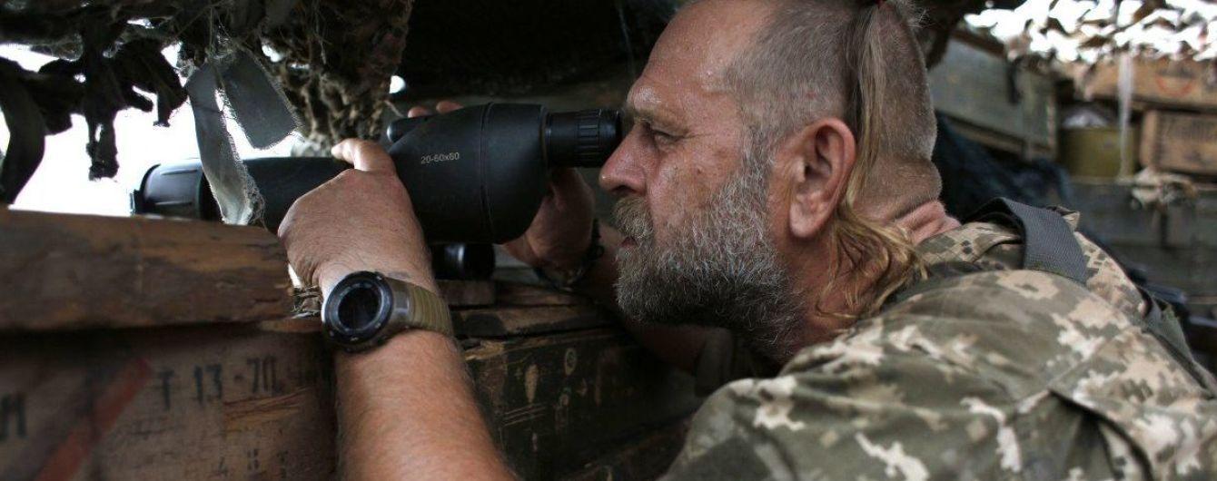 Террористы на Донбассе стреляли из гранатометов и стрелкового оружия