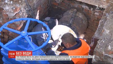 Водоснабжение в Одессе могут восстановить раньше запланированного срока