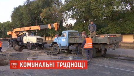 Без воды и в пробках: в Одессе ремонтируют старый водопровод