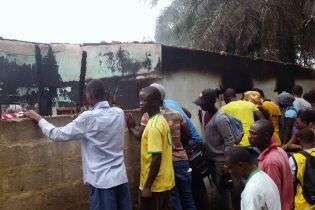 В Ліберії 27 дітей загинули під час пожежі в школі