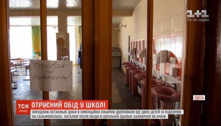 Еще двух учеников одесской школы госпитализировали в инфекционную больницу с диагнозом сальмонеллез