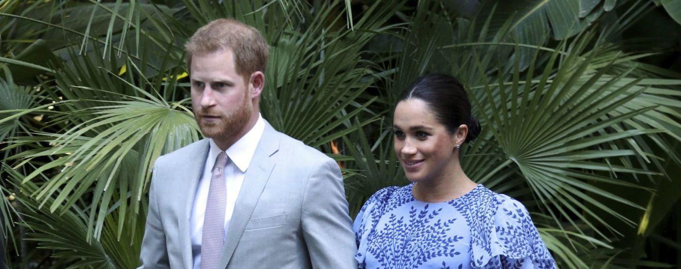 Принц Гаррі та Меган прилетіли до Риму на весілля подруги