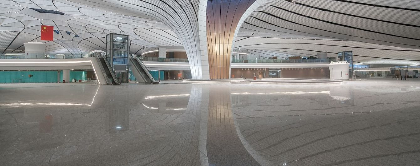 В Китае открыли один из крупнейших аэропортов в мире