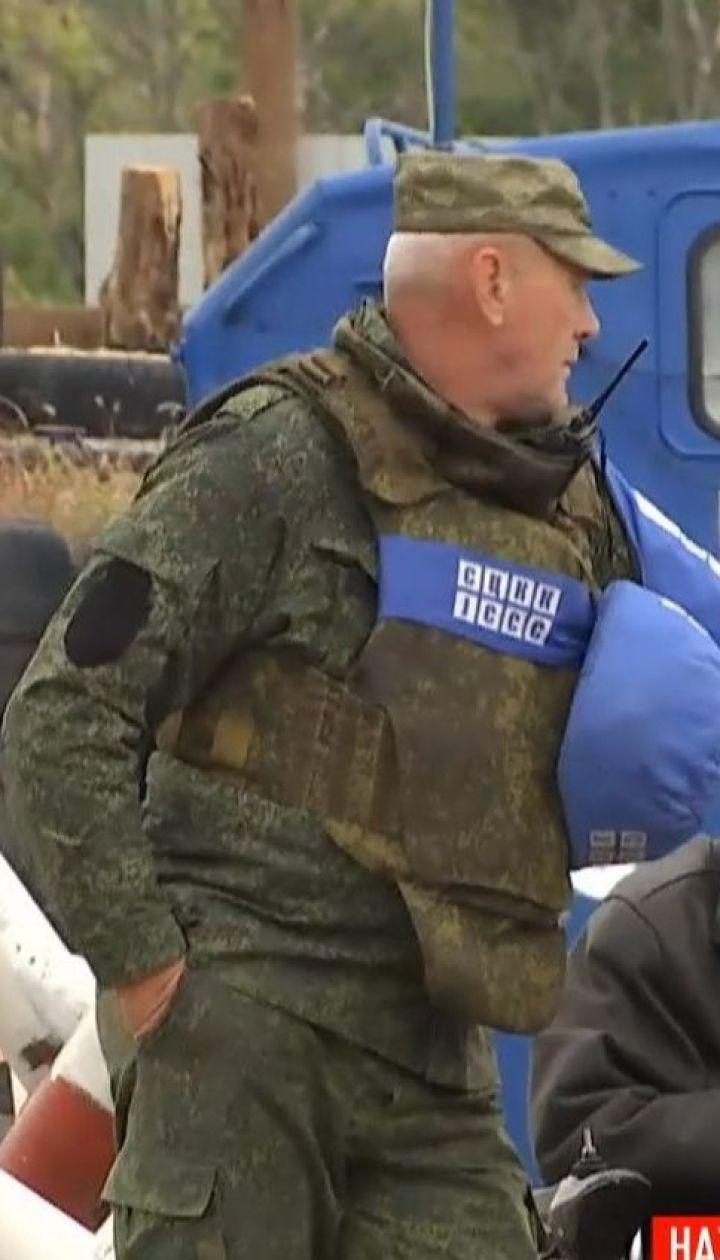 В Станице Луганской продолжаются работы по восстановлению взорванного моста