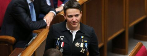 Екснардеп Надія Савченко стане ведучою на телеканалі, який пов'язують з Медведчуком